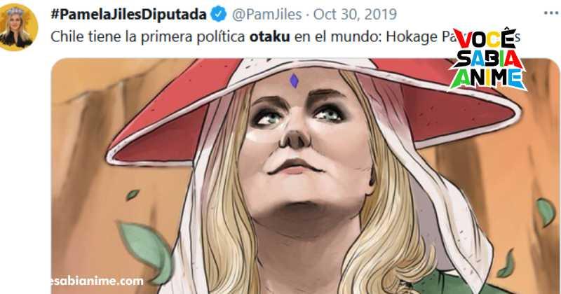 Chile tem candidata otaku que faz a corrida Naruto no Parlamento