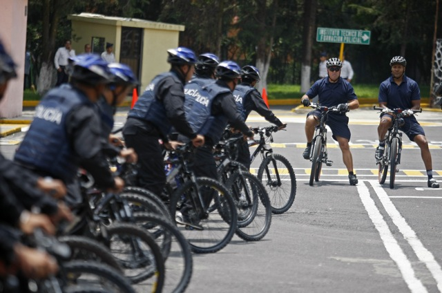 Mexico Bicycle Police