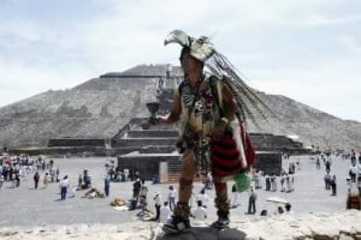 Primevera en Teotihuacan