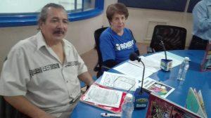 Maricarmen Montes Castillo y Alfonso Anaya Andrade, representantes de Servicio Internacional Cristiano de Solidaridad con América Latina Monseñor Romero-México (SICSAL)