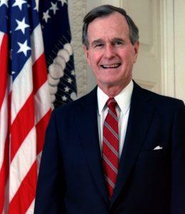 George Herbert Bush. Foto: Wikipedia