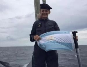 Eliana Krawczyk, Oficial submarinista del ARA San Juan. Foto: Especial