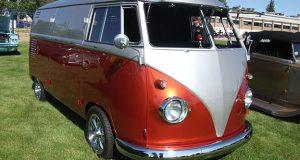 Una van de la empresa Volkswagen.