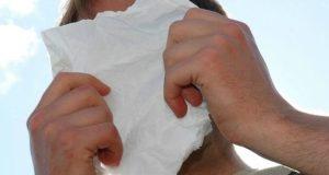 A la hora de toser o estornudar, debe cubrirse la boca y la nariz con el interior del codo o con un pañuelo desechable.
