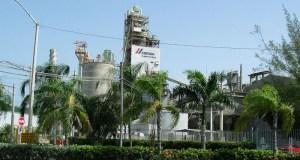 Planta de Cemex en Ponce.