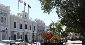 Plaza Las Delicias en Ponce.