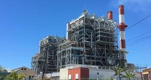Central Termoeléctrica Aguirre en Salinas. (Voces del Sur)