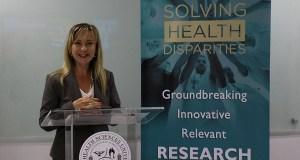Kenira Thompson, presidenta del Ponce Research Institute. (Voces del Sur)