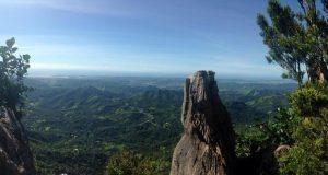El Pico Rodadero es uno de los puntos más altos de la región Sur.