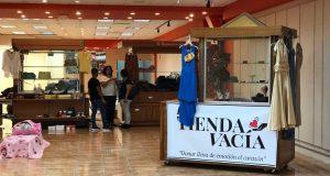 La Tienda Vacía estará en el Centro del Sur Mall del 15 de mayo al 4 de junio.