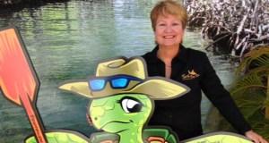 Zulma Rivera, dueña y gerente general de Turtle Bay Inn, en Lajas. (Suministrada)