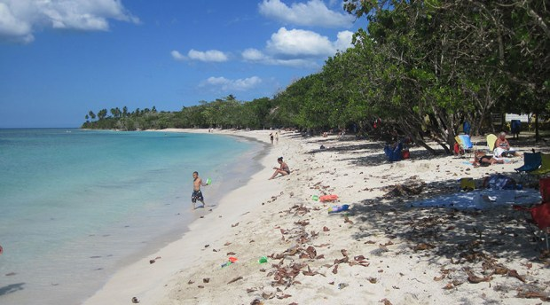 Playa Buyé, en Cabo Rojo. (Wikimedia Commons / Elivan)