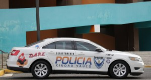 Policía Municipal de Yauco. (Voces del Sur)