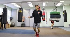 """Edwin """"Chin"""" Valentín peleará contra Andrew Rosser Núñez el 3 de febrero de 2018 en el Coliseo Ismael """"Chavalillo"""" Delgado de Aguada. (Voces del Sur)"""