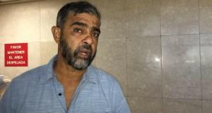 """Alberto de Jesús """"Tito Kayak"""" durante su comparecencia hoy al tribunal de Ponce. (Voces del Sur)"""