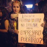 ¿POR QUÉ AL HERMANO BOLIVIANO NO DAN MAR PERO AL EMPRESARIO LE PERMITEN PODRIRLO?