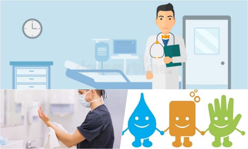 LOS CONCURSOS PARA EL LAVADO DE MANOS EN LOS HOSPITALES: un premio irónico que sugiere que la formación de Profesionales de la Salud debe reformarse