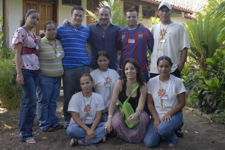 9.-Voluntarios de la Asociación para el Desarrollo de Solentiname.