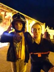 Tristan et le casque de pompier