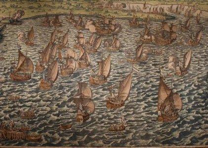 Wandtapijt Slag bij Lillo 23 februari – 16 maart 1573
