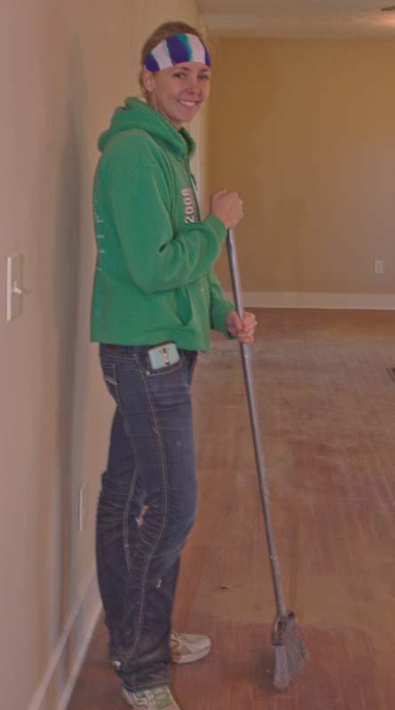 Lauren Kleyer JFAs Communications Manager Cleaning Up-