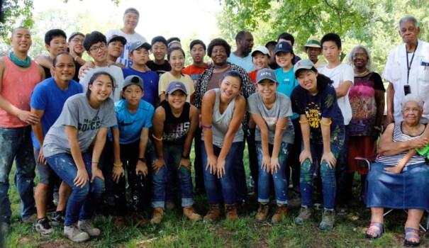 Austin Korean Presbyterian Church helps Seniors in Jackson