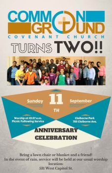Celebrate with Common Ground Church