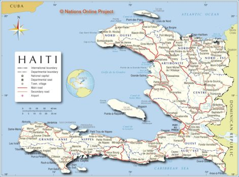 Reporting Live from Haiti!