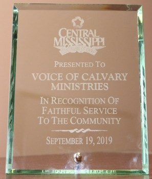 Voice of Calvary Ministries receives Continuum of Care Award