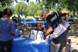 2019 Homeless Connect at  Poindexter Park
