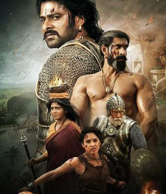 """Poster for the movie """"Baahubali 2: The Conclusion"""""""