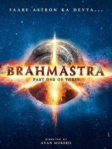 "Poster for the movie ""Brahmastra"""