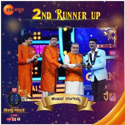Sa Re Ga Ma Pa Grand Finale 2st Runner up