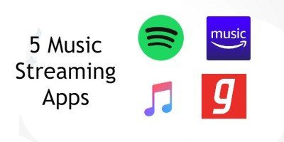 5 Music Streaming Apps