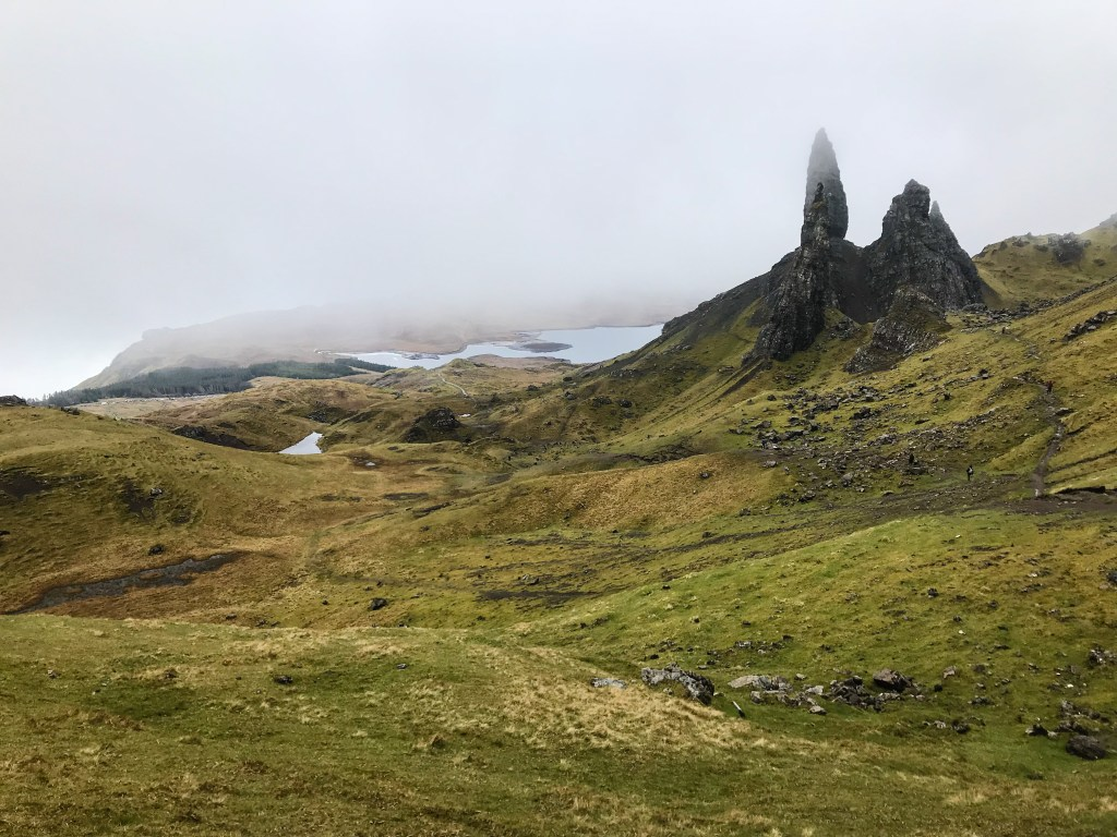 The Old Man of Storr, остров Скай