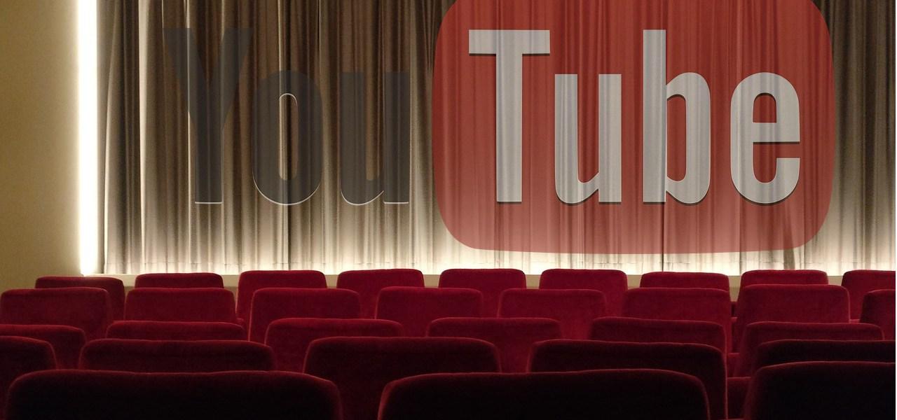 Filmy online za darmo i legalnie w serwisie YouTube