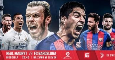 Real Madryt – FC Barcelona, czyli El Clasico na żywo w internecie. Gdzie oglądać?