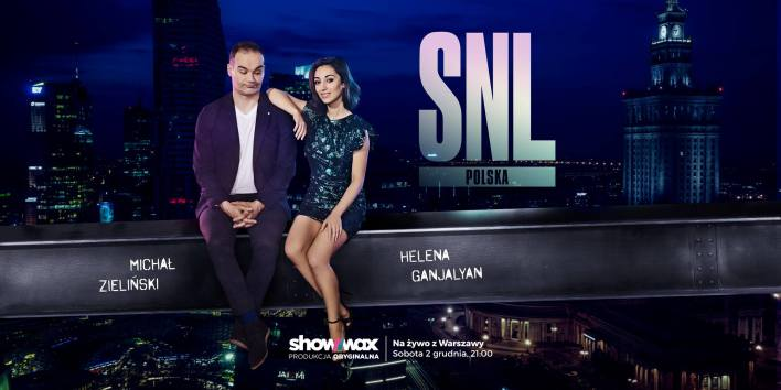 """Michał Zieliński i Helena Ganjalyan w """"Saturday Night Light"""" w Showmax"""