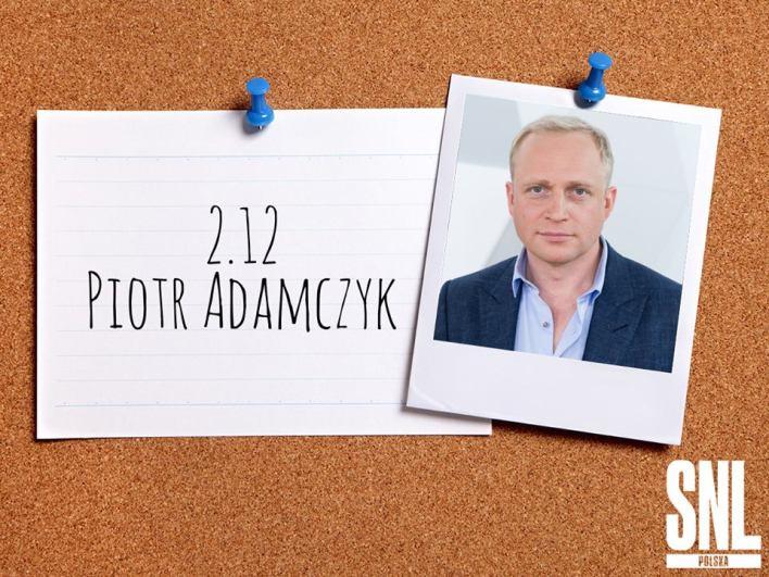 """Piotr Adamczyk gościem pierwszego odcinka """"SNL Polska"""""""