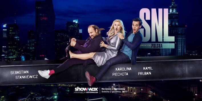 Sebastian Stankiewicz, Karolina Piechota oraz Kamil Pruban w Showmax