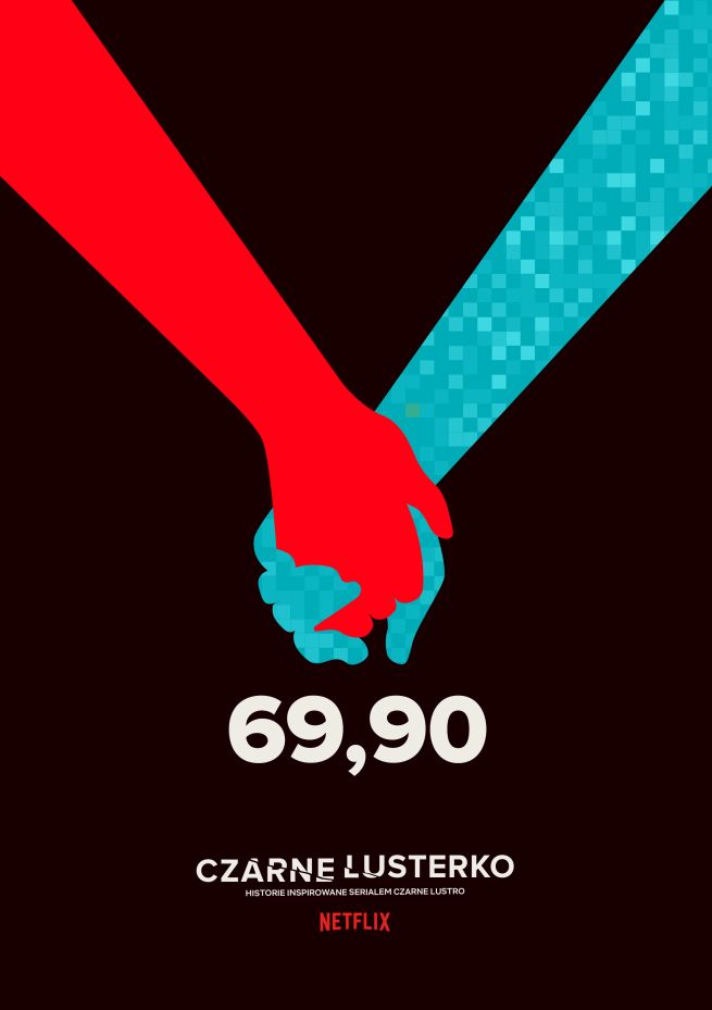 """""""69,90"""" to odcinek z serii """"Czarne lusterko"""". emce kwadrat we współpracy z Netfliksem"""