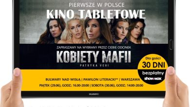 "Photo of Showmax organizuje kino tabletowe z ""Kobietami Mafii"""