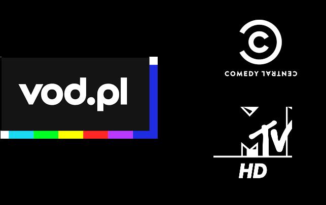VOD, VOD.pl, Nowe logo, nowa oprawa graficzna, Comedy Central, MTV Polska