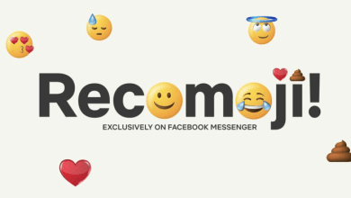 Netflix, Messenger, Recomoji