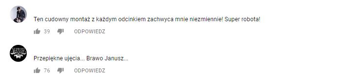 Komentarze fanów Jakbyniepaczeć