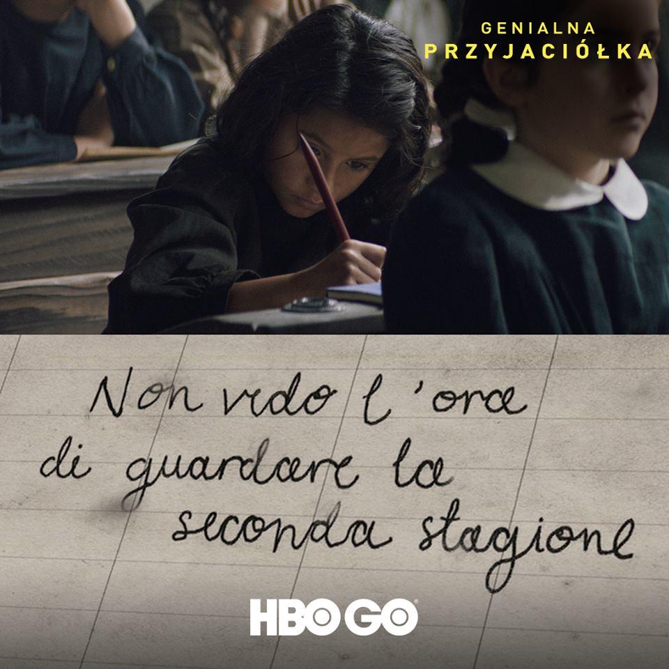 HBO GO i RAI zamawiają drugi sezon serialu Genialna przyjaciółka