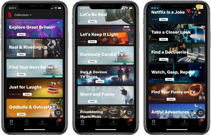 Netflix wprowadzi Kolekcje, czyli ludzki system rekomendacyjny