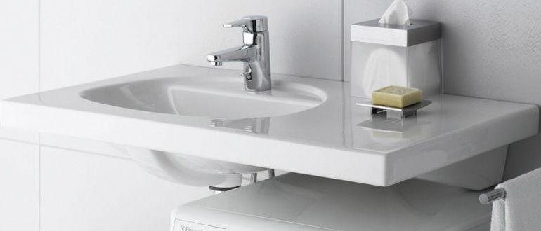 Раковина для стиральной машины - Водовед