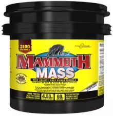 mammoth 2500 weightgainer