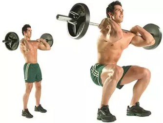 front squat of back squat